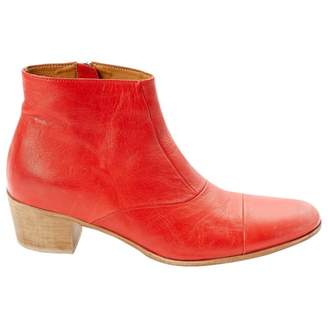 Swildens Leather ankle boots