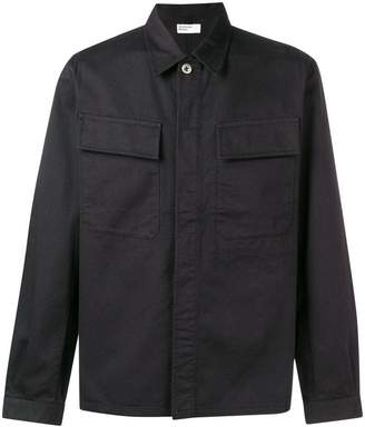Universal Works cargo pocket twill shirt