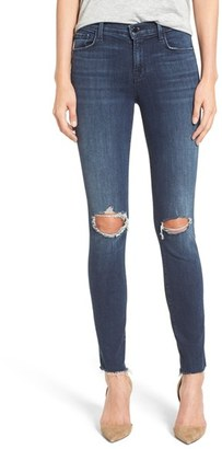 J Brand '811' Ankle Skinny Jeans $188 thestylecure.com