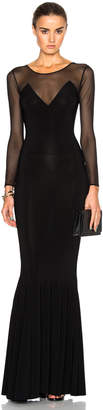 Norma Kamali Fishtail Dress $325 thestylecure.com