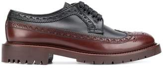 Burberry brogue detail Derby shoes
