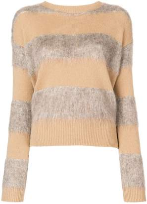 Ballantyne knit mix sweater