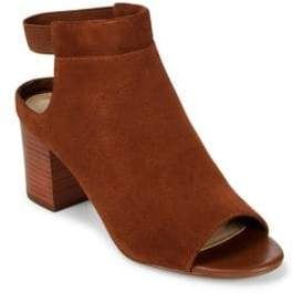 Saks Fifth Avenue Charles Leather Mules