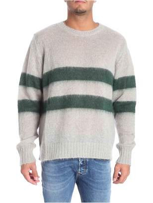Golden Goose Striped Patterned Sweater