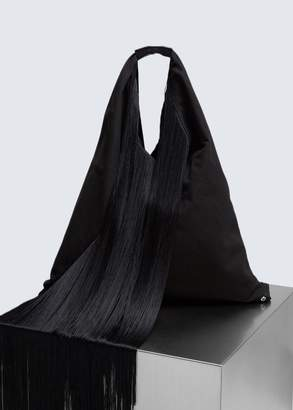MM6 MAISON MARGIELA Fold Over Fringe Tote
