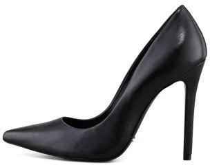 Schutz Gilberta Leather Pump, Black (Stylist Pick!)