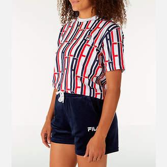 Fila Women's Lia Allover Print T-Shirt