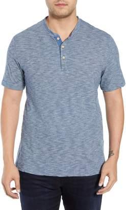 Peter Millar Indigo Henley Shirt