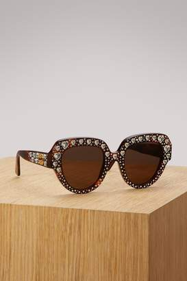 Gucci Crystal sunglasses