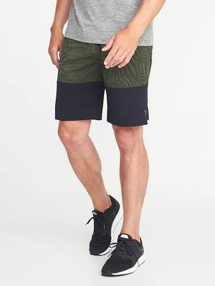 """Old Navy Go-Dry Color-Block Run Shorts for Men (9"""")"""