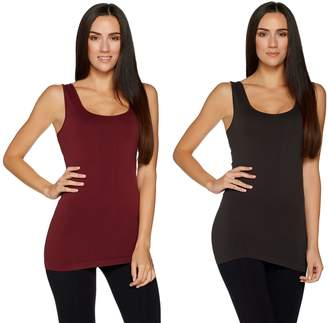 Skinnytees skinnytees Seamless Layering Tank Set of Two
