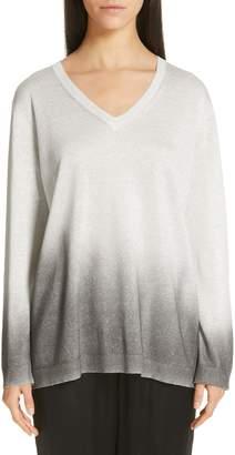 Fabiana Filippi Ombre Metallic Sweater