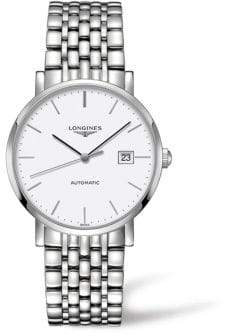 Longines Elegant Collection Stainless Steel Bracelet Watch
