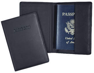 Royce Leather Royce New York Passport Embossed Rfid Blocking Passport Case