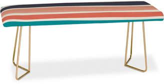 Deny Designs Zoe Wodarz Paper Stripe Bench