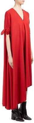 Maison Margiela Women's Asymmetric V-Neck Dress