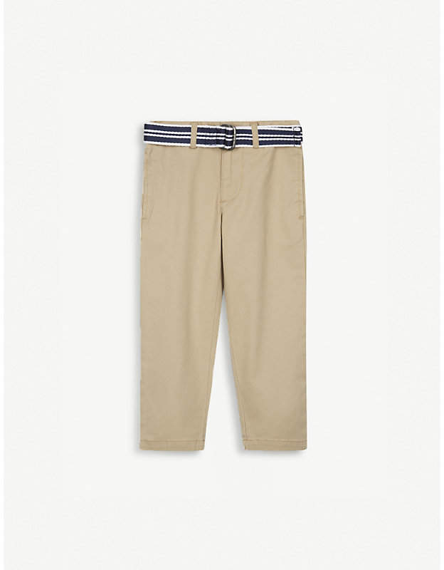 Skinny fit cotton chinos 2-4 years