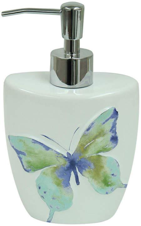 Bacova Guild Watercolor Garden Soap Dispenser