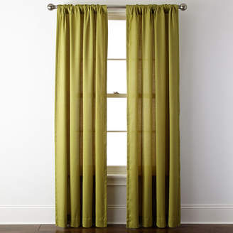 JCPenney JCP HOME HomeTM Rialto Rod-Pocket/Back-Tab Curtain Panel