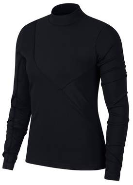 Next Womens Nike Pro HyperCool Long Sleeve Ribbed Tee