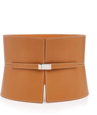 Maison Vaincourt Exclusive Leather Corset Belt Size: 70 cm