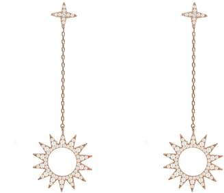 Rosegold Latelita - Day & Night Sun Earrings