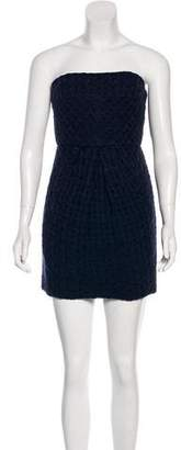 Tibi Crocheted Sheath Dress