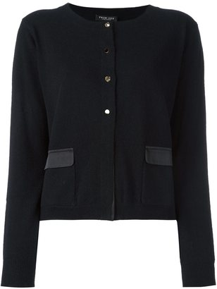 Twin-Set flap pockets cropped cardigan $236.62 thestylecure.com