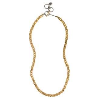 Lanvin Silver Metal Necklace