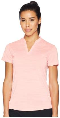 Nike Zonal Cooling Polo Short Sleeve Sub Jacquard Women's Short Sleeve Pullover