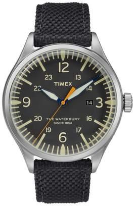 Timex R) Waterbury Canvas Strap Watch, 40mm