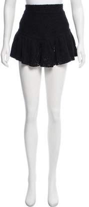 IRO Lace Mini Skirt
