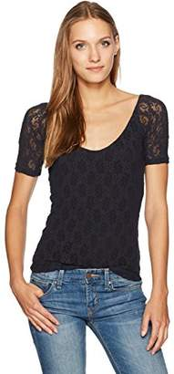 Only Hearts Women's Stretch Ballet Neck Tee