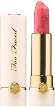 Too Faced Peach Kiss Moisture Matte Long Wear Lipstick Peaches and Cream Collection