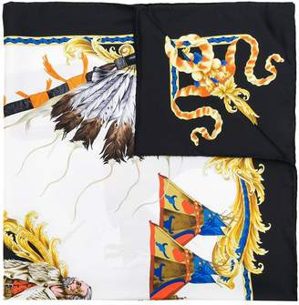 Versace Horse print scarf