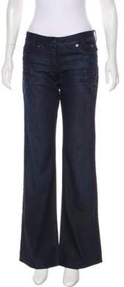 Just Cavalli Flared Mid-Rise Jeans w/ Tags