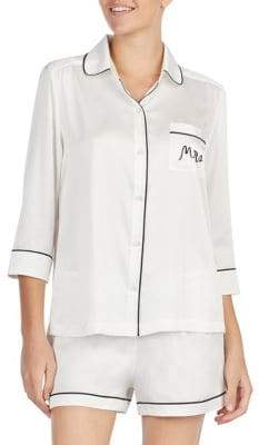 Kate Spade Mrs. Short Pyjamas