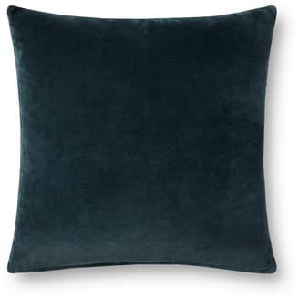 Lulu & Georgia Nadja Dual-Colored Pillow, Lagoon and Gray