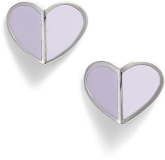 Kate Spade Heart Stud Earrings
