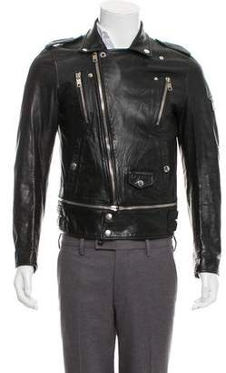Marc Jacobs Leather Moto Jacket
