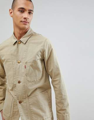 Levi's Levis worker engineers jacket harvest gold