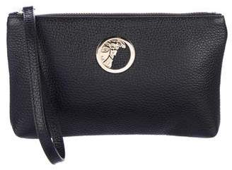Versace Vitello Stampa Alce Clutch w/ Tags
