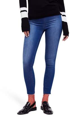 Free People Easy Goes It Denim Leggings