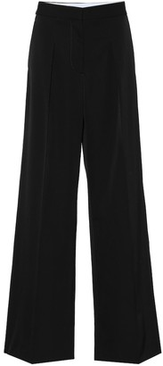Stella McCartney Pleat-front wool pants