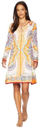 Hale Bob Hold Your Horses Matt Micro Fiber Jersey Dress Women's Dress