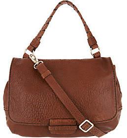 Plinio Visona PLINIO VISONA' Lamb Leather Convertible SatchelHandbag