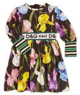 Dolce & Gabbana Little Girl's& Girl's Floral Flare Dress