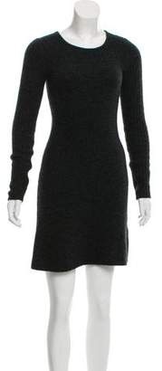 Etoile Isabel Marant Wool Long Sleeve Dress