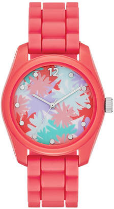 FASHION WATCHES Womens Floral Dial Watch