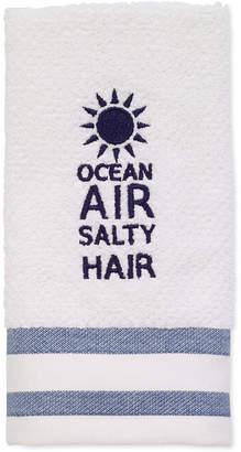 "Avanti Beach Words 12"" x 18"" Fingertip Towel Bedding"